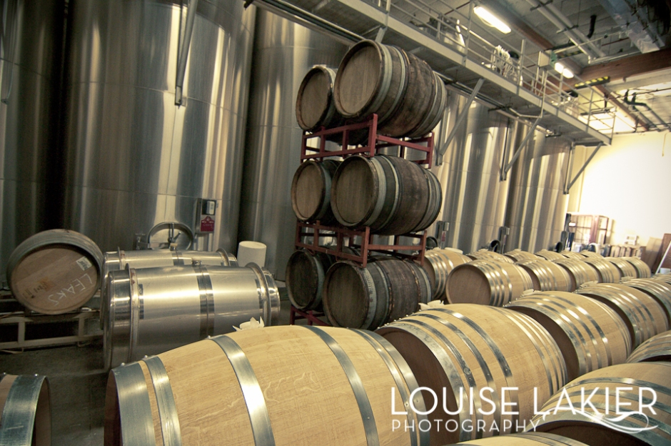 Wineries, Dry Creek Valley, Operations, Stainless Steel Tanks, Oak Barrels