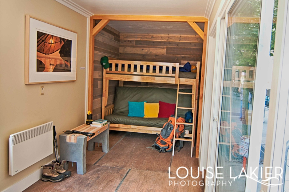Second Use, Reclaimed Wood, Low VOC, Soy Spray Foam Insulation, Salvage, Cabin, Green Tools