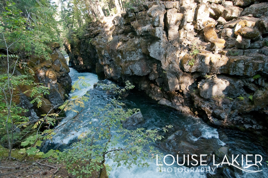 The Rogue River, The Rogue River Gorge, Rivers, Crater Lake National Park, Oregon