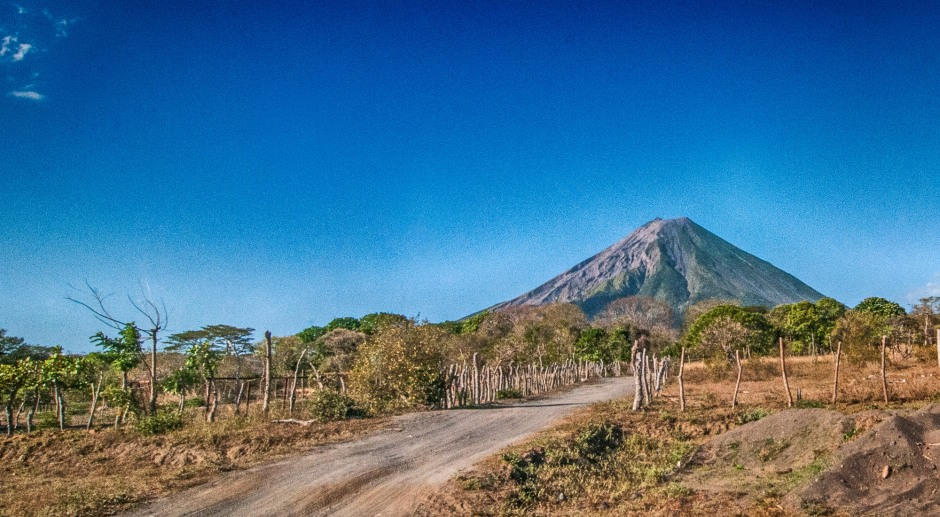 Volcano, Maderas, Ometepe Island, Isla de Ometepe, Vertical, Climbing, Jungle Gym, Monkey in the Jungle, Central America, Nicaragua