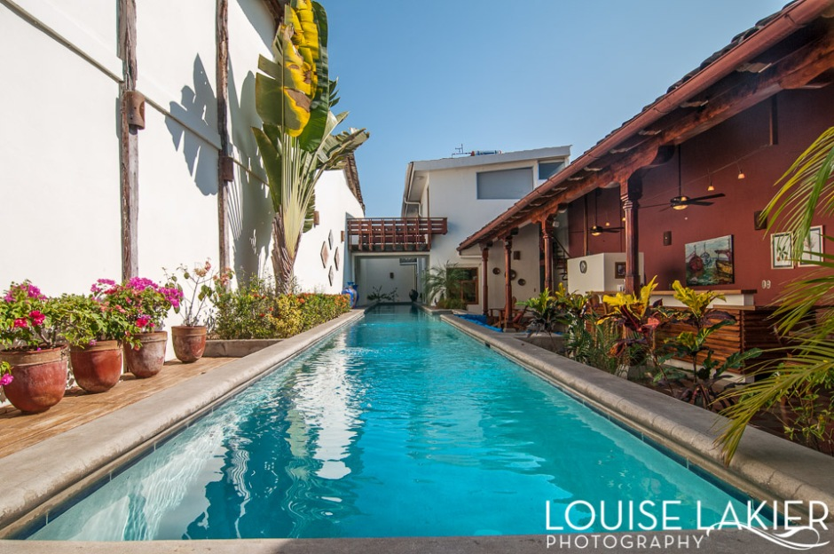 Swimming, Nicaragua, Pools, Water, Refresh, Dip, Sunbathing, Courtyard Features, Architecture, Granada, Casa Consulado, Project Brio, Casa Yalula, Rental Homes