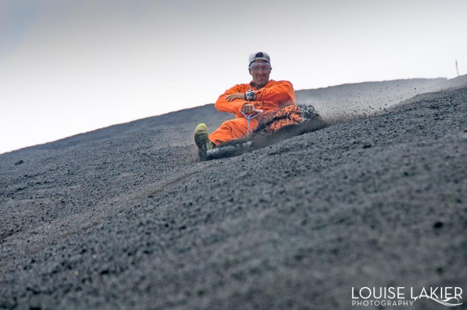 Cerro Negro, Volcano Boarding, Leon, Bigfoot Hostel, Yeity.com, Nicaragua, Tours, Thrill Ride, Bucket List, Central America, Go Pro, Focus
