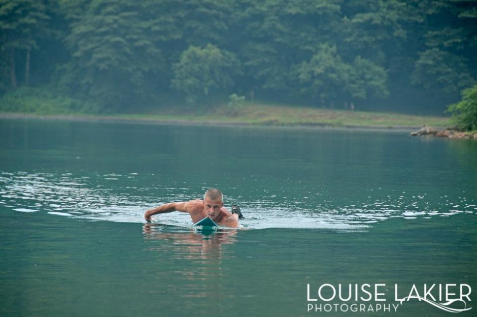 Paddle Practic in Laguna de Apoyo